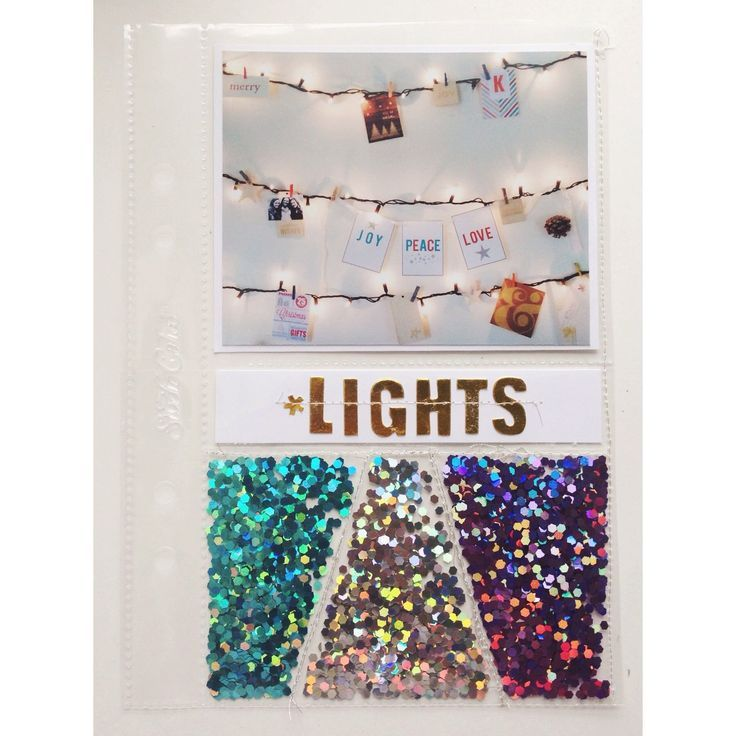 December Daily ideas - love all the glitter!                              …