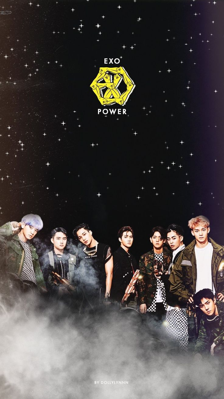 """EXO POWER"" Homescreen/Lockscreen Wallpaper"