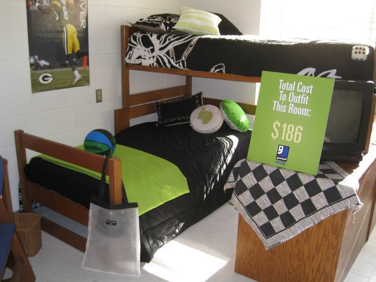 Great Masculine Dorm Room Using The Same Furniture That We Have At  Manchester University