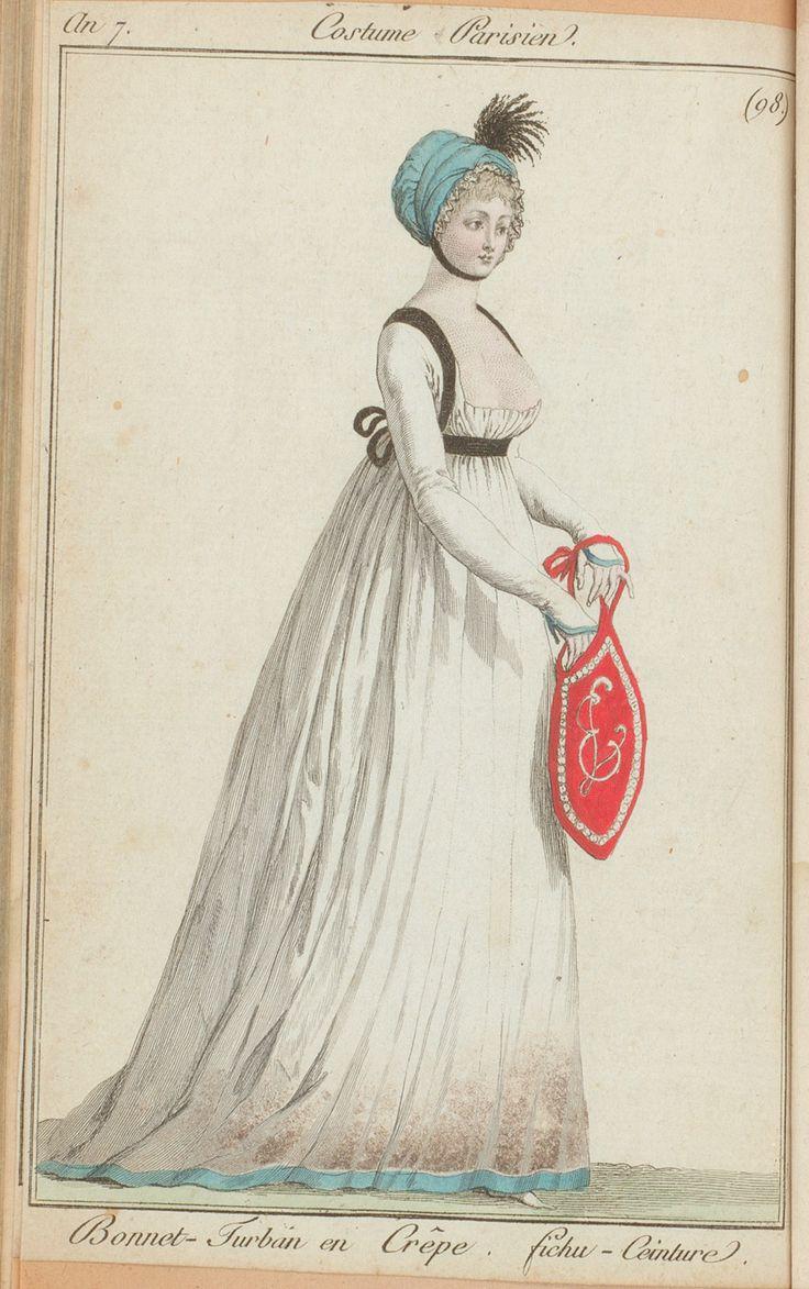 Journal des dames et des modes 10 germinal an. 7 (30 March 1799)