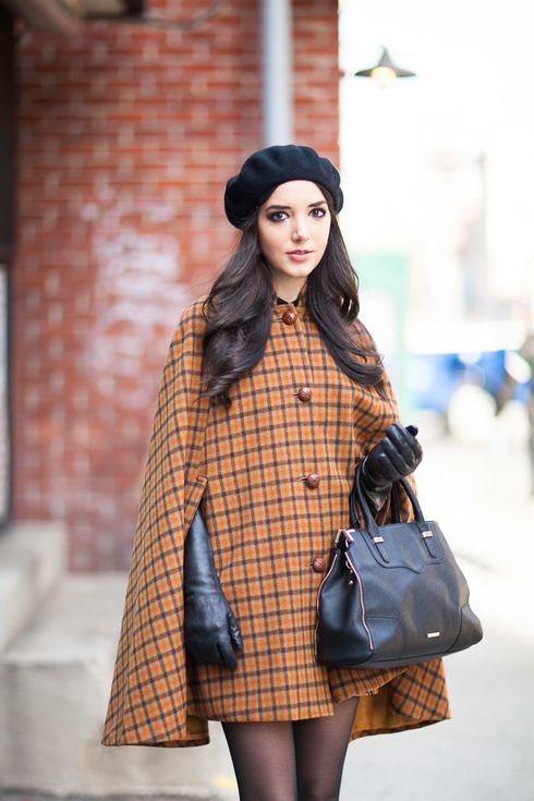 New York Street Style. More photo at: http://www.fashionsnap.com/streetsnap/2015-01-28/49088/