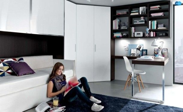 Contemporary Teen Room Decor from Misura Emme