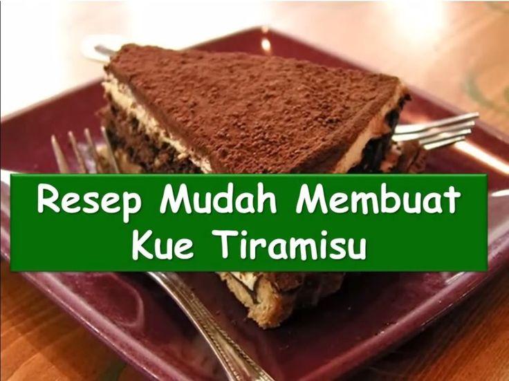 Resep dan Cara Membuat Kue Tiramisu #NyokMasak http://youtu.be/w9T2teoTRXk