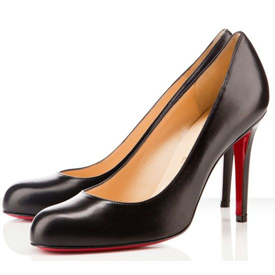 All You Need is Love And Christian Louboutin Simple 100mm Pumps Black DTK!