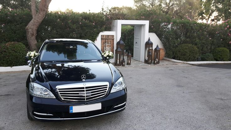 Wedding to Barkiza with our Mercedes S Class