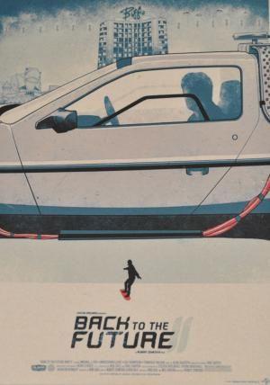 Постер к фильму Назад в будущее :: Интернет-магазин дизайнерских постеров