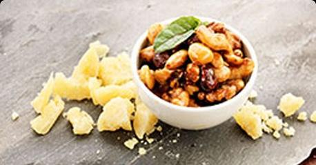 Paahdetut hunajapähkinät