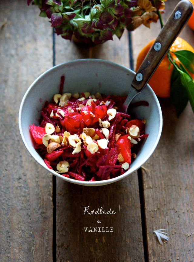 Beetroot & Clementine Salad | The Food Club