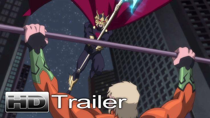 No os perdáis el nuevo trailer de la presentación del #Aquaman animando en Justice League: Throne of Atlantis #DC #Comics