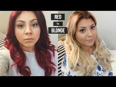The 25 best how to remove red hair dye ideas on pinterest can how to go from red to blonde urmus Gallery