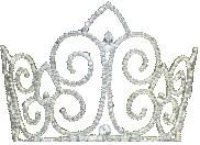 Miss American Coed pageant Crown