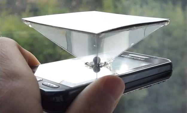 Dawid Herda-diy smartphone hologram display build