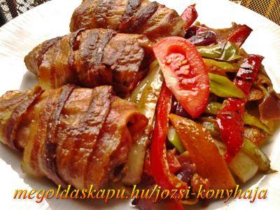 3.) Baconos csirkeszárnyak http://megoldaskapu.hu/csirkeszarny-receptek/baconos-csirkeszarnyak Baconos csirkeszárnyak | CSIRKESZÁRNY Receptek | Megoldáskapu