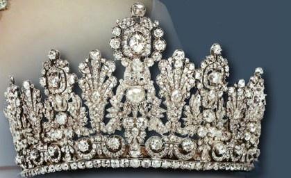 Diamond Tiara of Grand Duchess of Luxemburg