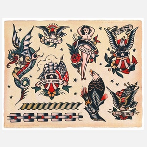 58 best images about Vintage tattoo flash on Pinterest ...