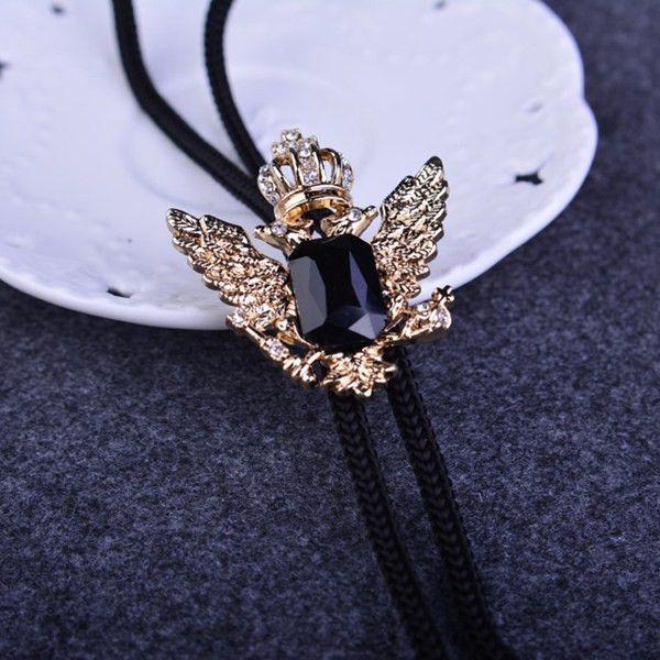Wholesale 32 Styles Natural Ruby Stone Cowboy Bolo Tie Shoestring Neck Tie Ties Men Women Dress Vintage Jewelry Bolo Necklace