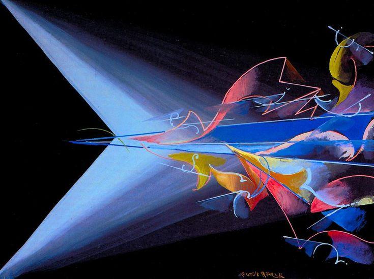"Giacomo Balla ""Science against Obsucantism"" 1920 Oil on canvas"