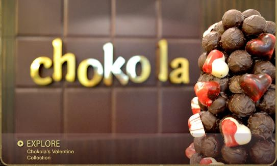 Choko la is all about Pure chocolate