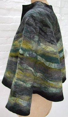 Gorgeous Felted Jacket / #clothes #culture #fashion