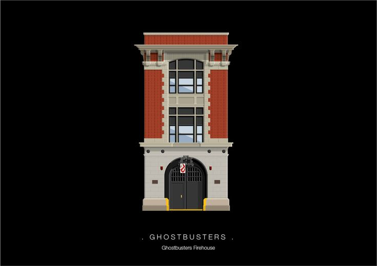 Frederico Birchal, Ghostbusters, Famous Movies & TV Shows Setting, 2015