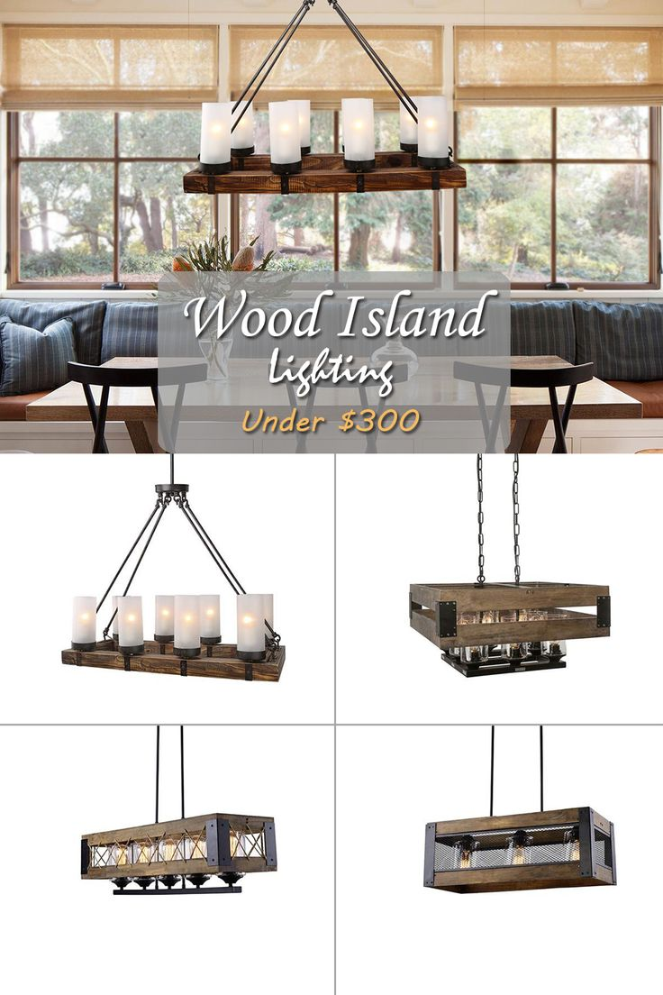 Enjoy your time more at home with the beautiful farmhouse, industrial chic wooden island chandeliers. A roundup of wood and metal chandeliers with vintage finishes, including distressed, weathered and rusty. All of the chandeliers are perfect for being that fabulous centerpiece that distinguishes your rustic lifestyle!