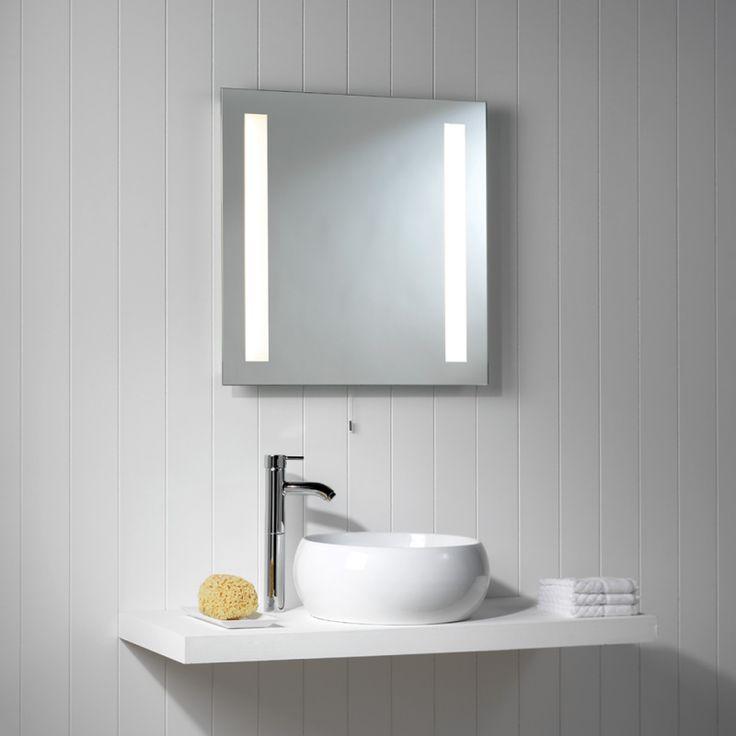 Astro Lighting Illuminated Bathroom Wall Mirror With Pull Cord From Netlightingcouk
