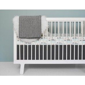 Olli + Lime - Teepee Crib Bedding Set