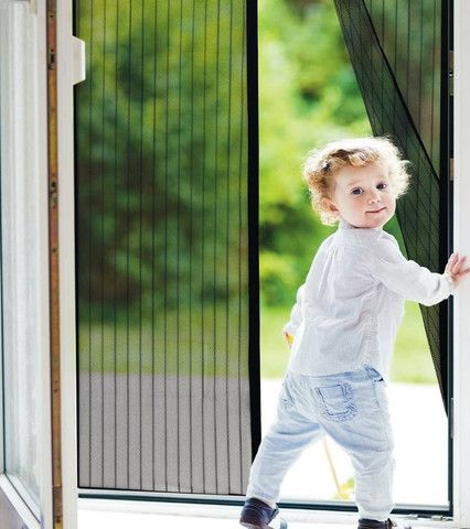 Open your doors to the summer air without letting the bugs know you're open for business. Enjoying a spring, summer or fall breeze to its fullest means throwing open your doors and letting wind rush t