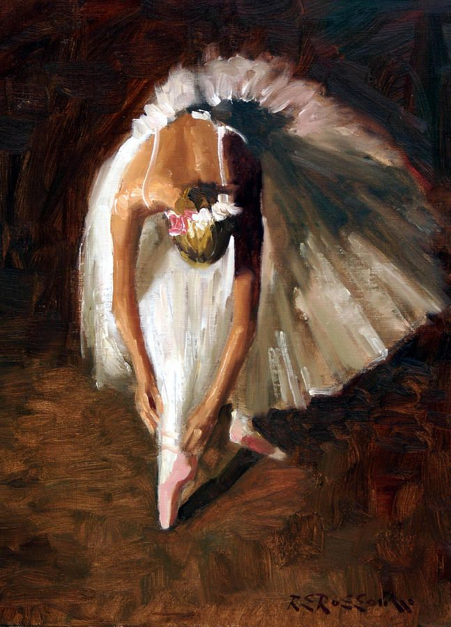 Ballerina with Pink Shoes