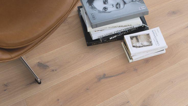 floor from Boen - elk traditionelt hvit