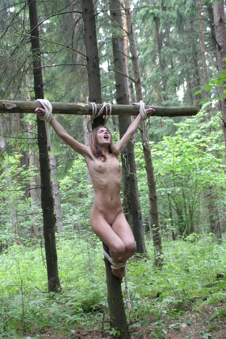Crucified porn pics she has