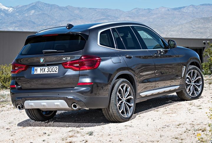 2018 Bmw X3 Rear Quarter Right Bmw X3 Bmw Car