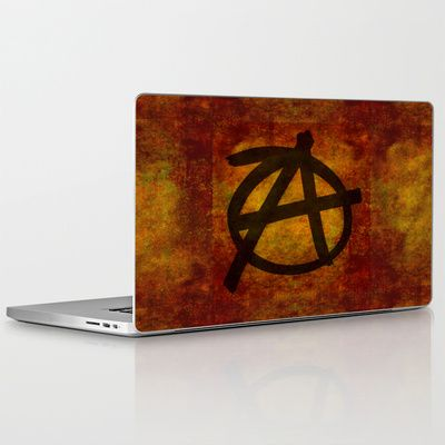 Distressed Anarchy Laptop & iPad SkinDistressed Anarchy Art Print by Bruce Stanfield ed, war, art, sign, dark, icon, wall, free, anti, punk, rough, chaos, black, shape, youth, symbol, design, grungy, sketch, grunge, culture, liberty, graphic, freedom, drawing, texture, anarchy, politics, graffiti, movement, anarchist, anarchism, different, political, government, revolution, background, illustration, sub culture, establishment, anti establishment #Anarchy