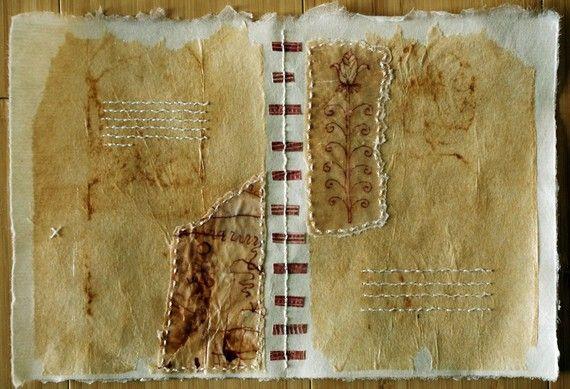 stitched paper by missouribendstudio