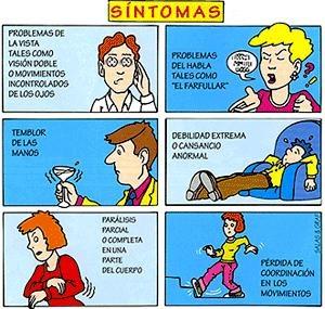 Síntomas de esclerosis múltiple #esclerosismultiple
