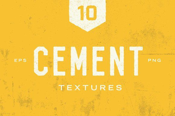 Cement Textures by GhostlyPixels on @creativemarket