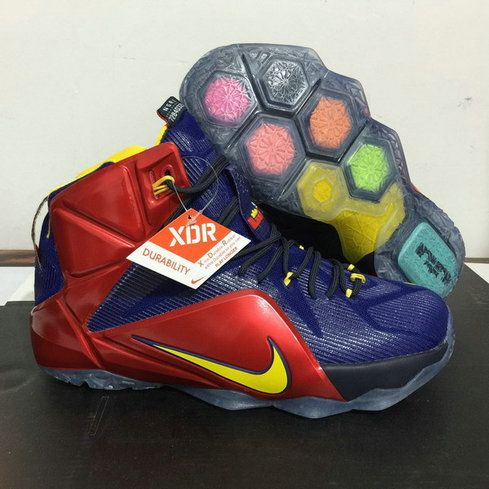 Free Shipping Only 69$ Lebron 12 XII ARIZONA WILDCATS Game Royal Bright Crimson