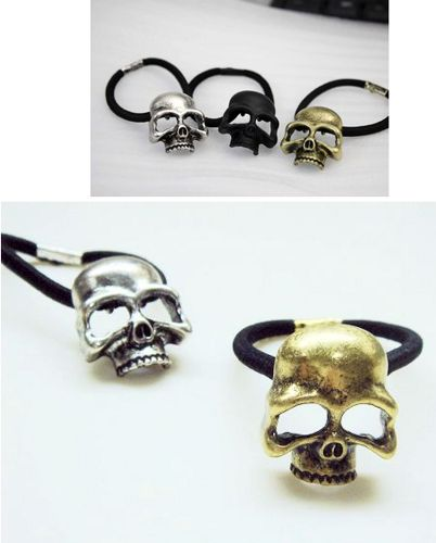 Skull barrett pendant alloy great for diy phone bling | chriszcoolstuff - Craft Supplies on ArtFire