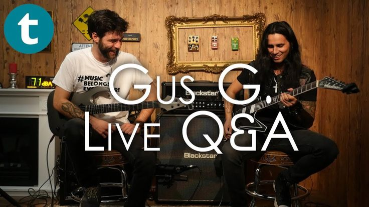 Guillaume sits down live with Gus G. to answer all your questions - be it solo, Firewind, Ozzy Osbourne or anything else! #live #talk #discussion #star #stars #guitarist #guitar #instrument #gusg #gear #instruments accessories #youtube #video #facebook #tutorial