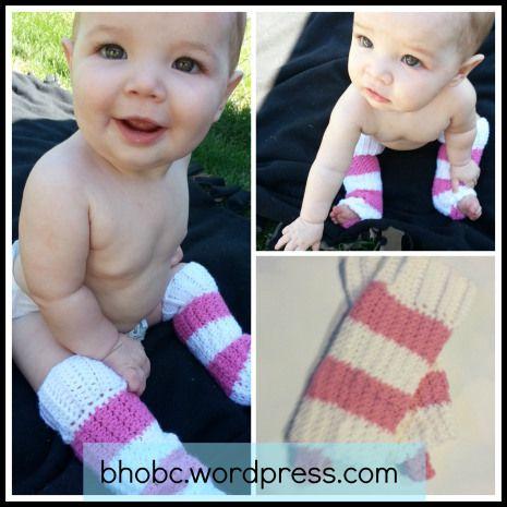 Pinnable Baby Leg Warmers