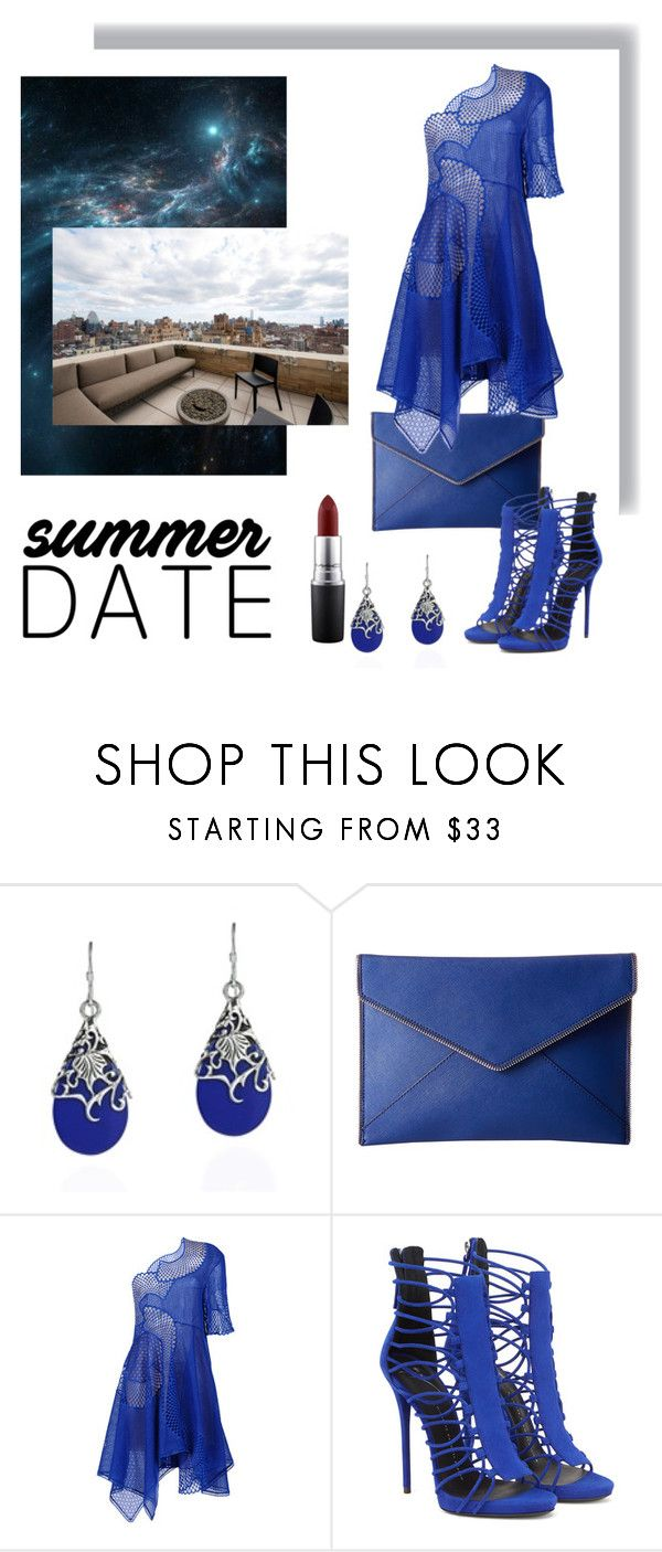"""""""Roof Top Bar - Outfit"""" by fallforit ❤ liked on Polyvore featuring AeraVida, Rebecca Minkoff, STELLA McCARTNEY, MAC Cosmetics, summerdate and rooftopbar"""
