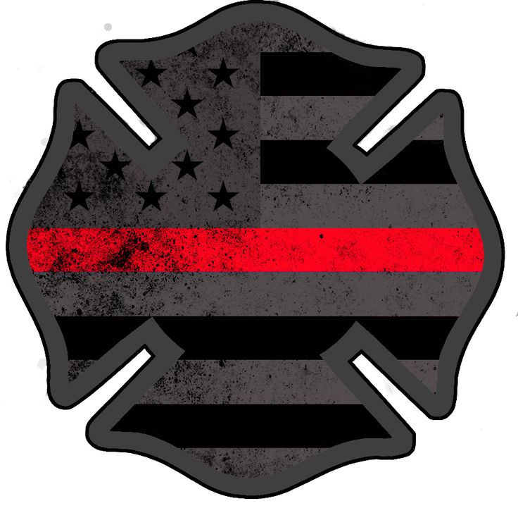 American Subdued Firefighter Decal