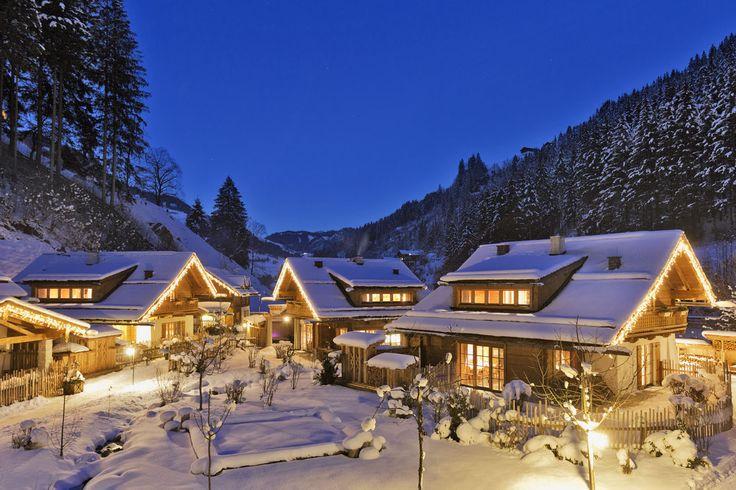 Winterromantik im Feriendorf Holzleb'n // Winter romance in the holiday village Holzleb'n