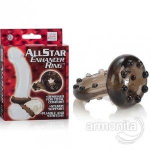 http://www.erotikmagaza.com.tr/u/all-star-enhancer-nodullu-ereksiyon-kemeri.html All Star Enhancer Nodüllü Ereksiyon Kemeri  - Erken boşalma problemine en kolay çözüm olarak tasarlanan; - All Star Enhancer Ring California Exotic'ten yenilikçi yaklaşım, - İki kısımdan oluşur; penis gövde dip ve testislerle beraber bağ özelliğine sahiptir.  - Testislere ve penis alt kısmına baskı uygulayarak daha uzun süreli ereksiyon sağlar.