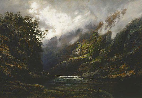 "WC Piguenit ""The Upper Nepean"" 1889"