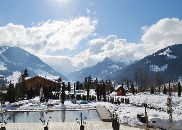 Enjoy the last days of Winter at The Alpina Gstaad until March 22nd. #ThePreferredLife #beyondtheexpected