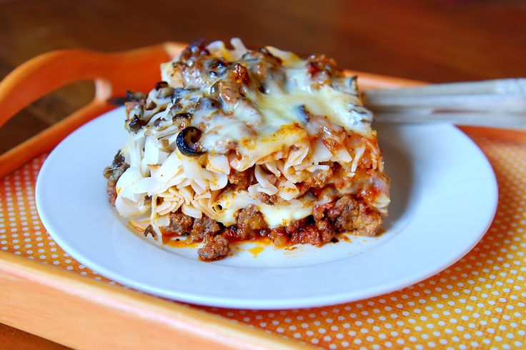 Simply Gourmet: 242. Cheesy Meat Casserole