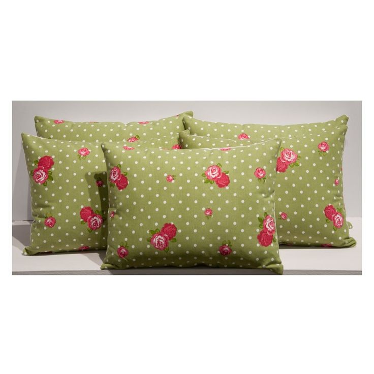 Rose Flower Cushion Cover