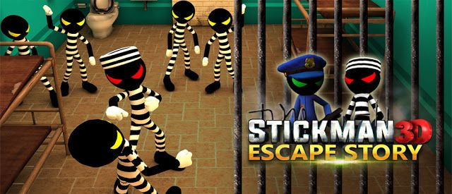 Download Stickman Escape Story 3D 2.1 - Play great escape from prison Astykmn Android