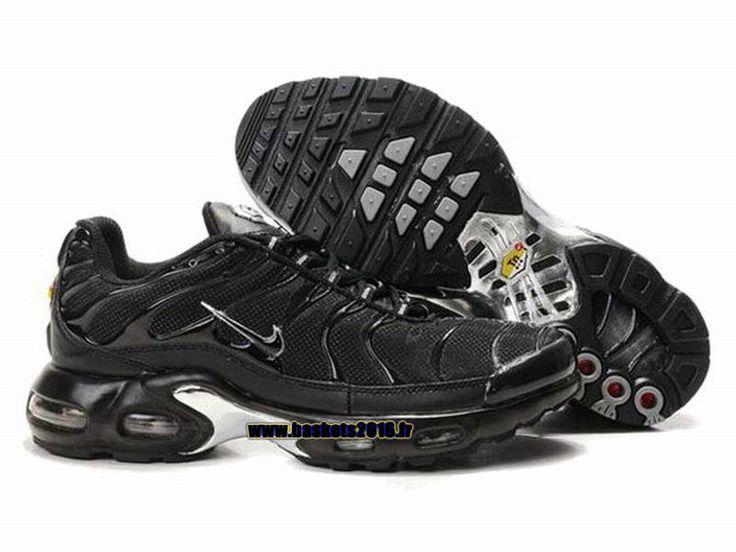 Nike Officiel Nike Air Max Tn Requin Tuned 1 Chaussures Pas Cher Pour Homme Tout  Noir